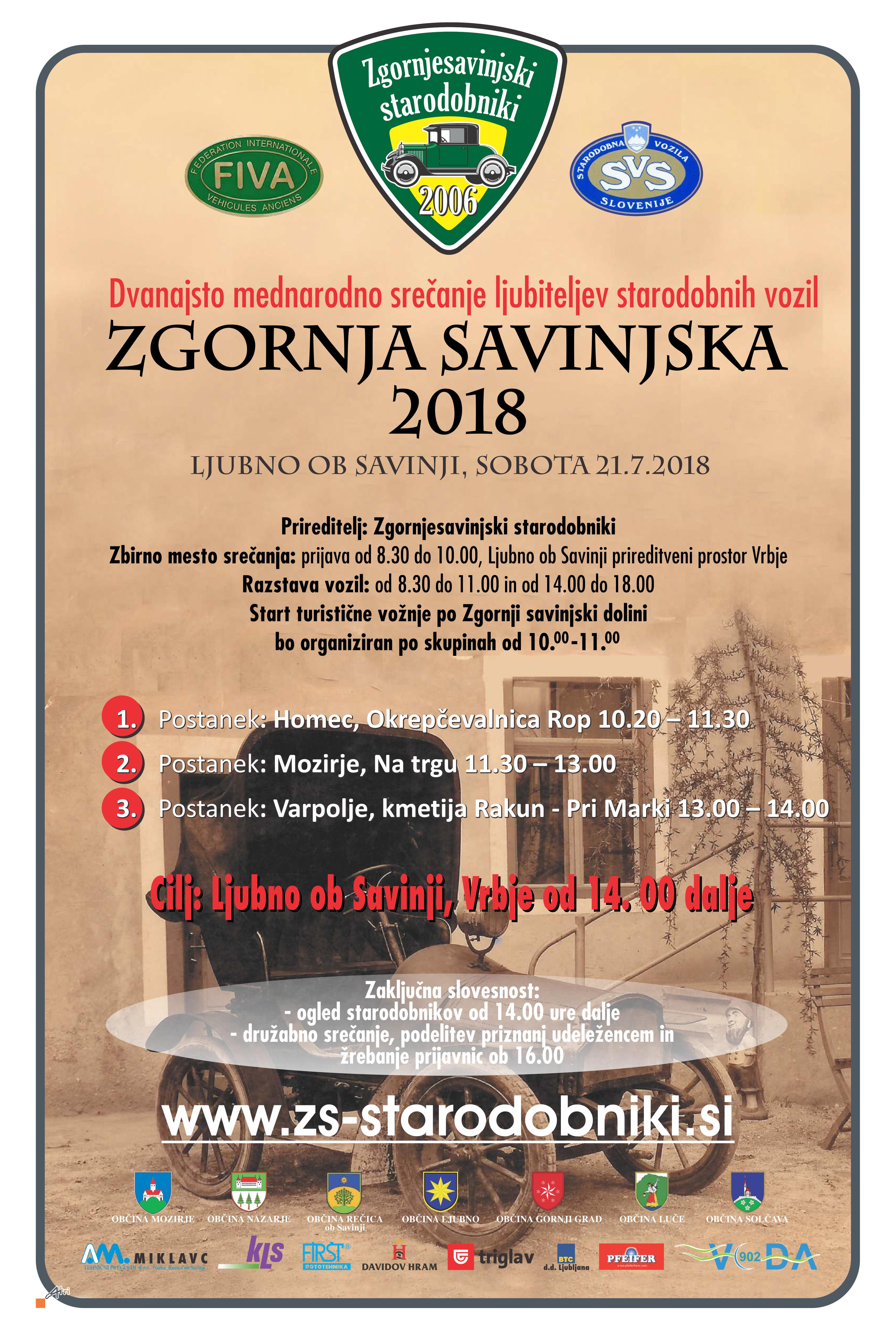 ZGORNJA SAVINJSKA 2018